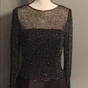 Creative Creations Beaded Dress/Gown Size 8